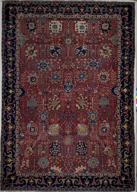 vase carpet