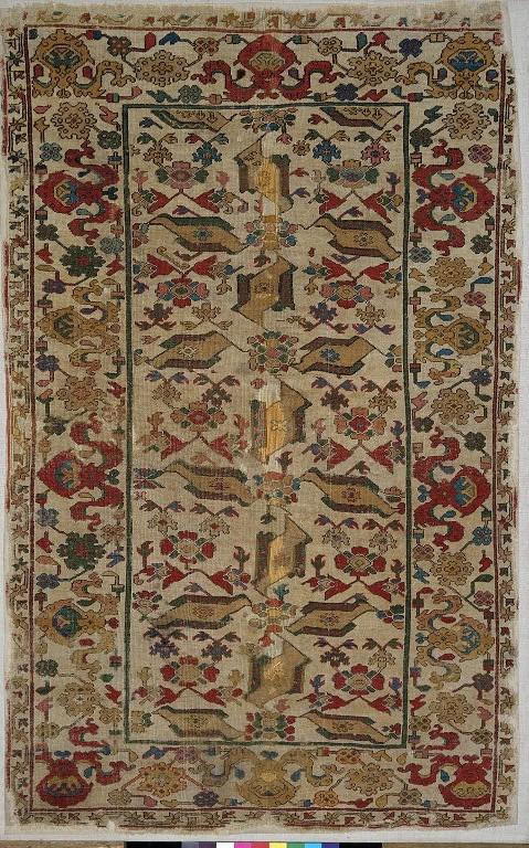 Ottoman bird carpet