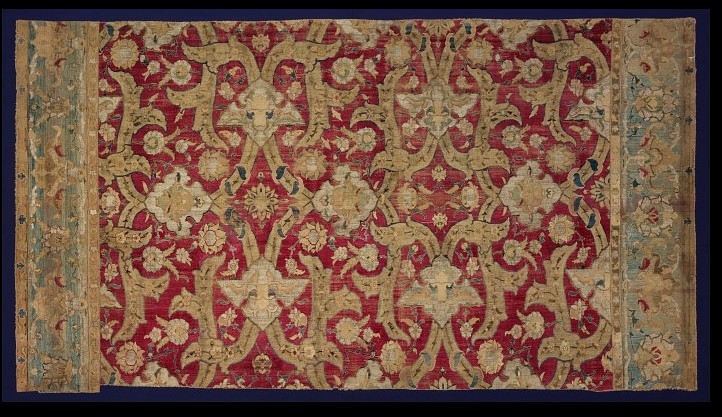 Polonaise Carpet fragment