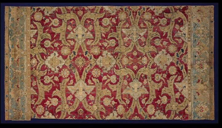 Polonaise Carpet fragment