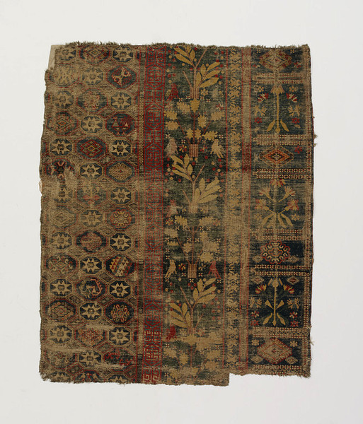 Spanish carpet fragment