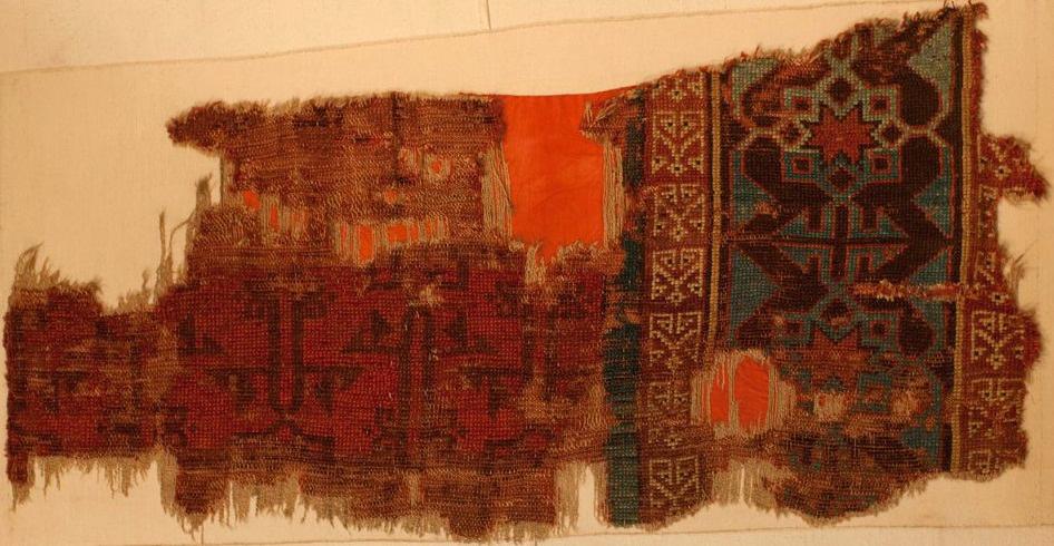 Seljuk rug fragment konya museum