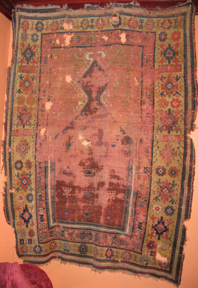 east Anatolian Prayer rug obruk sivas