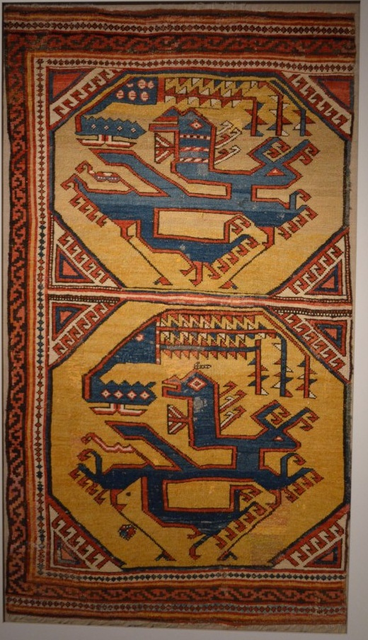 Anatolian Dragon and Phoenix Rug Berlin