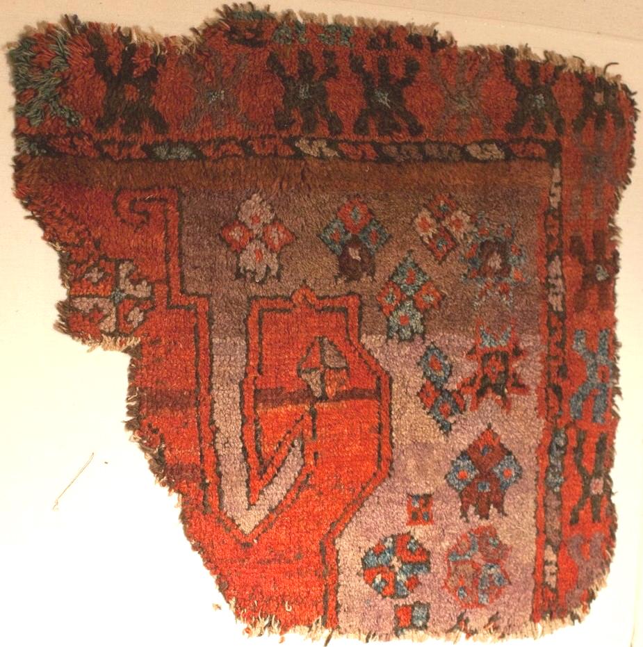 Karapinar Karaman rug fragment