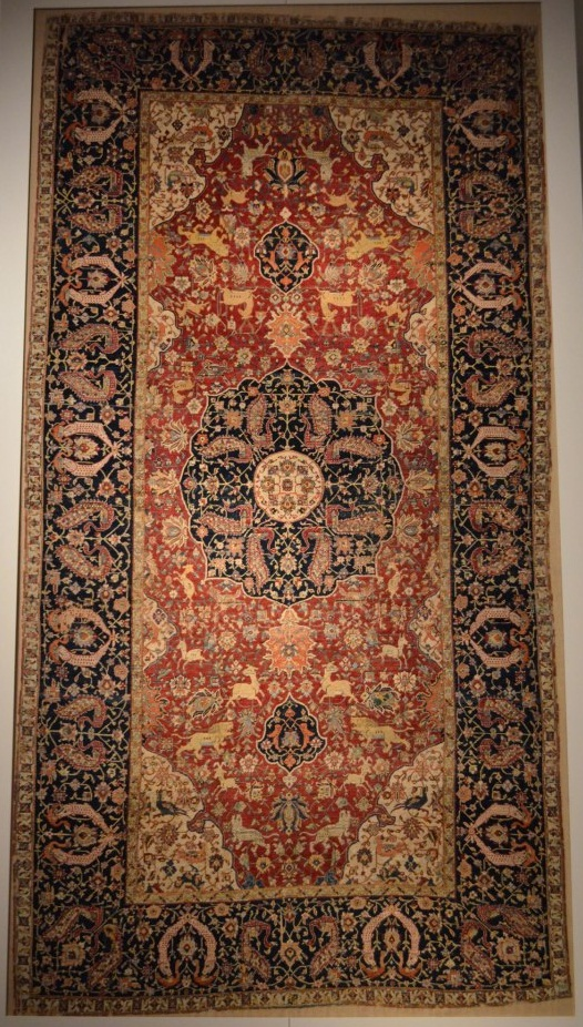 Safavid Medallion Carpet