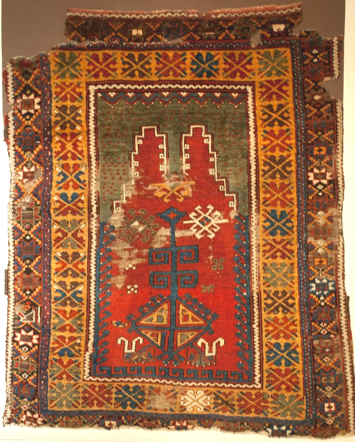 Central Anatolian prayer rug Konya Museum