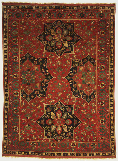 Lobed Medallion Ushak Carpet