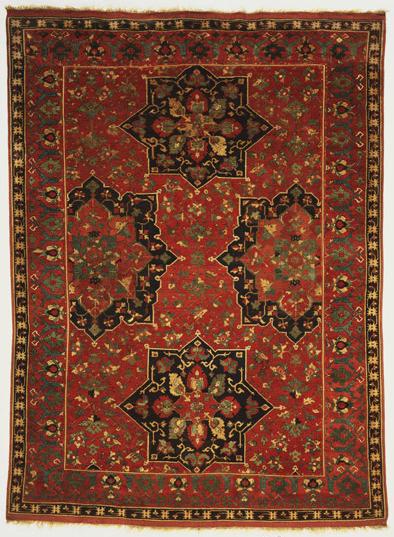 Lobed Medallion Ushak Carpet