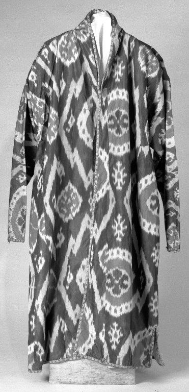 Uzbek ikat coat
