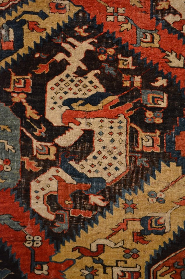 Caucasian Dragon Carpet Berlin Museum