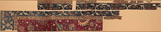 Mughal Carpet fragments