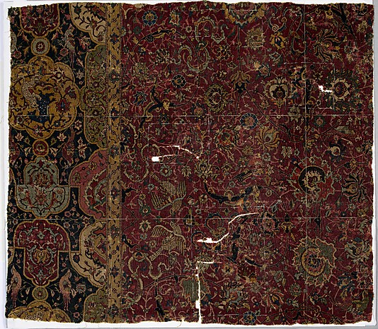 Safavid Carpet fragment