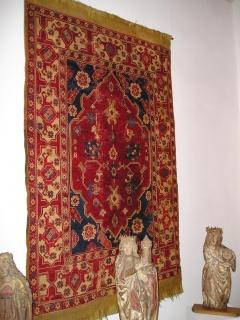 Transylvanian rug in the Brukenthal Museum, Sibiu