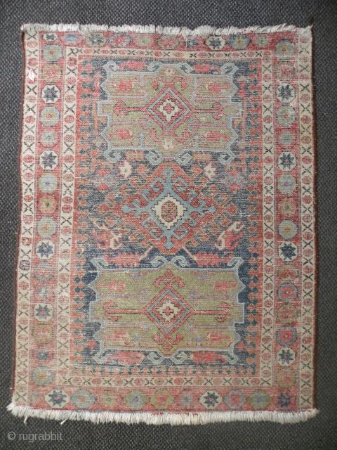 Persian Karaja rug 98 x 125 cm