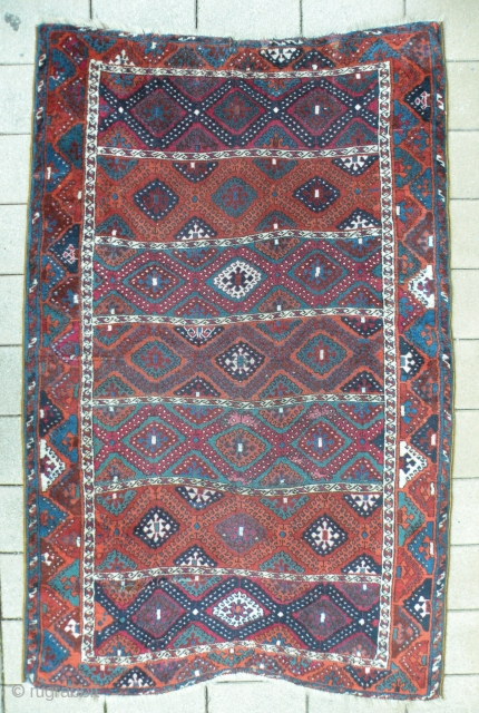 Antique East Anatolian Rug 123x190 cm