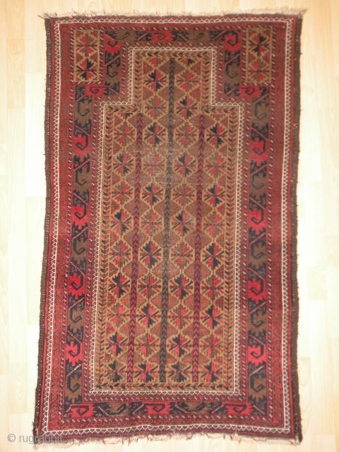 Baluch prayer rug, 90x144 cm