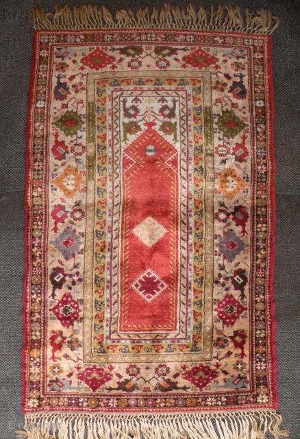 Old European rug 120x187 cm