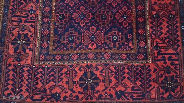 Türkmen Belüç Carpet Size 197x106