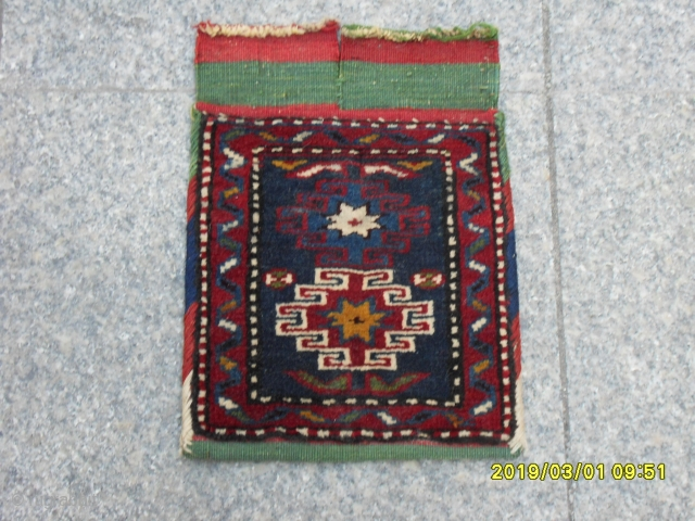 Antique Decorative Bag all the natural dyes size: 25x25