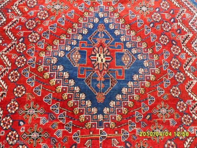 Antıque Shirazz Kaşkay Carpet perfect size: 260x185 cm.