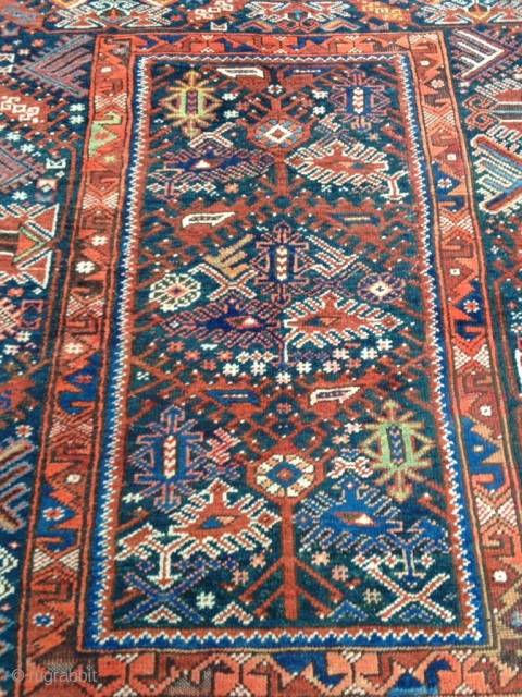 Antique Anatolian Döşeme Altı Carpet Size 146-123