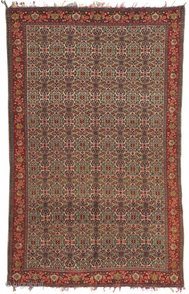 Senneh Haft Rangh rug