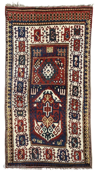 Borchalo Kazak prayer rug