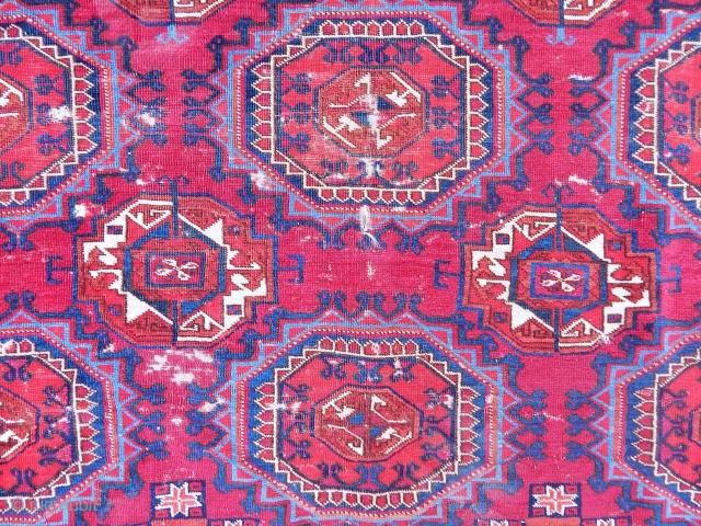 Beatifull Turkmen Tekke Rug