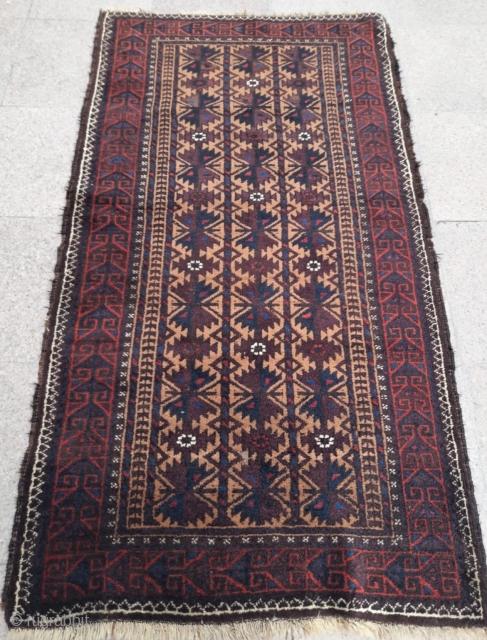 Antique Baluch Rug  Size :170x100 cm