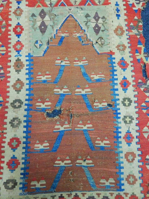 Old Konya Obruk Prayer Kilim