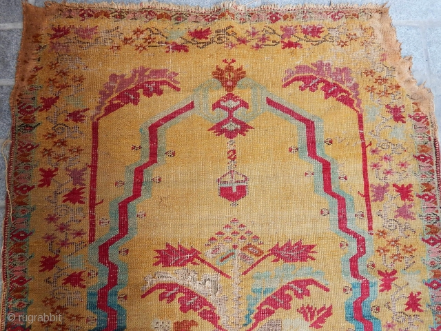 Antique Gördes Rug