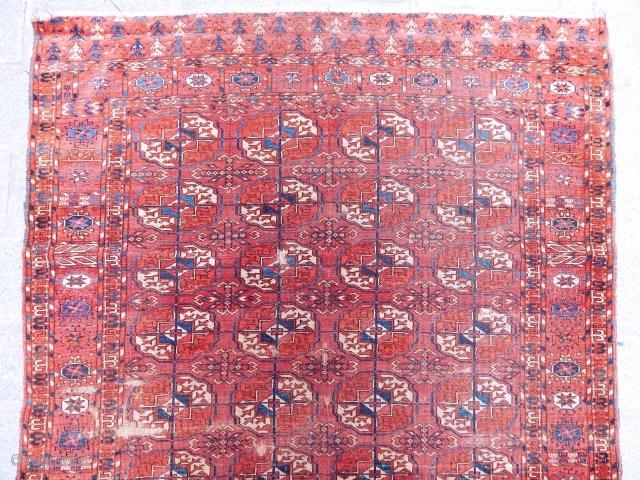 Antique Turkmen Tekke Rug