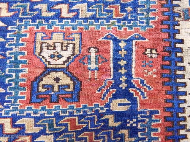Antique Caucasian Zili Sumak Fragment