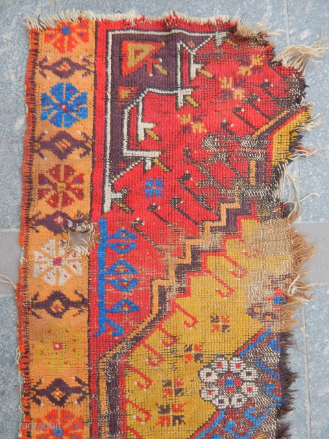 Antique West Anatolian Rug Fragment