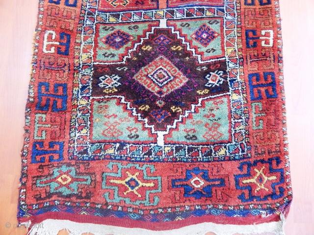 Antique Anatolian Cankırı Yörük Rug  size.260x90cm