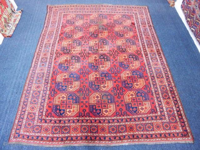 Antique Turkmen Ersary Rug