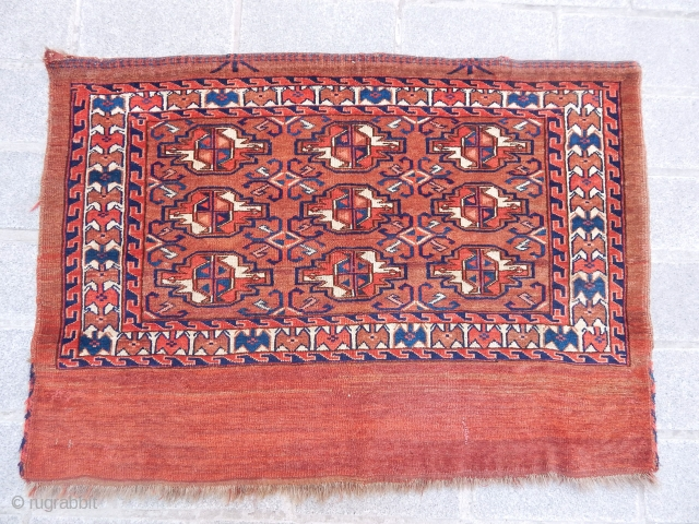 Antique Turkmen Yamut Torba