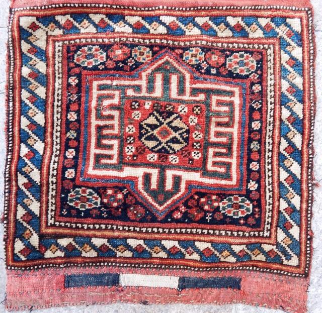 Antique Qashqaii Rug Bagface size.50x50 cm