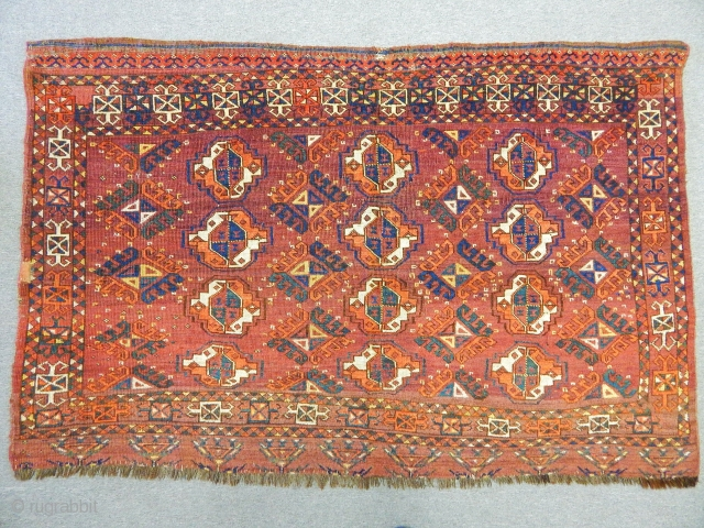 Antique Turkmen Ersari Chuval