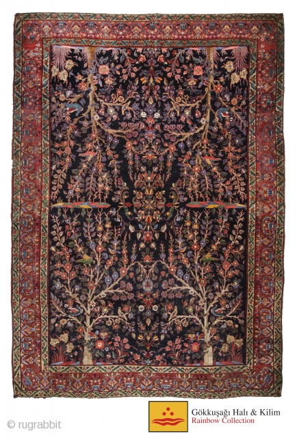 Antique Persian carpet 315 cm x 420 cm