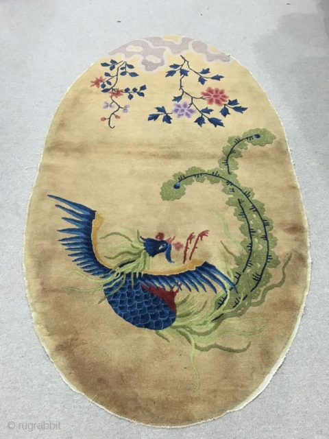 20th century Chinese Carpet with good condition.