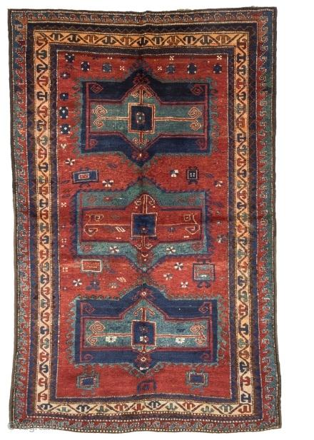 Early 900s Kazhak Fahralo 158 cm x 247 cm