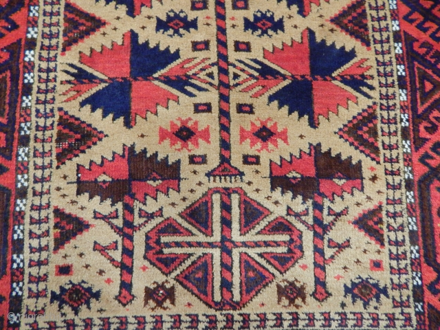 Old Baluch Rug size.175x87cm