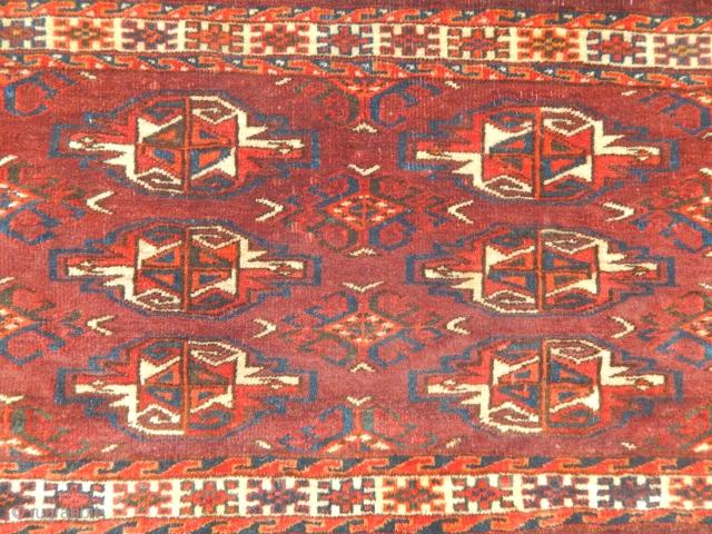 Old Turkmen Yamut Torba size.65x115cm