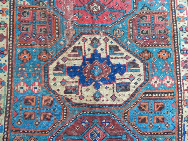 Antique Bijar Carpet