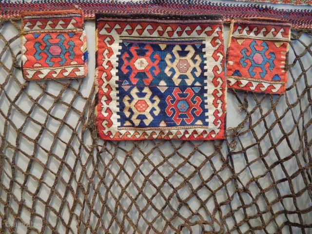 Sahsavan Spoonbag Faces size.30x32cm 18x12cm