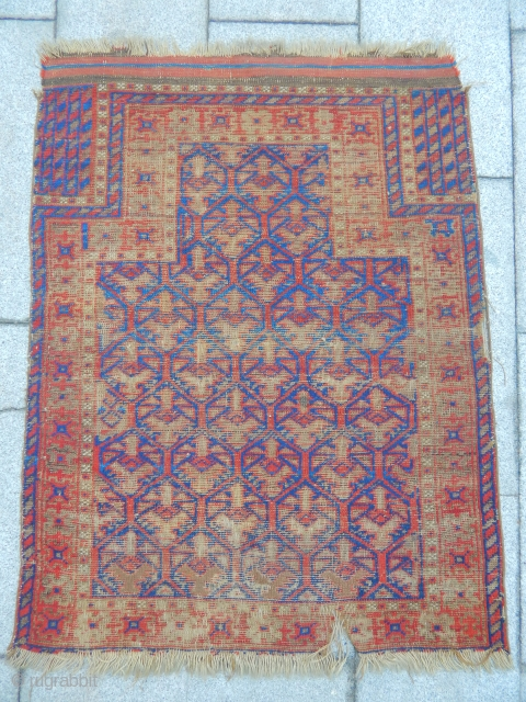Old Baluch Prayer Carpet
