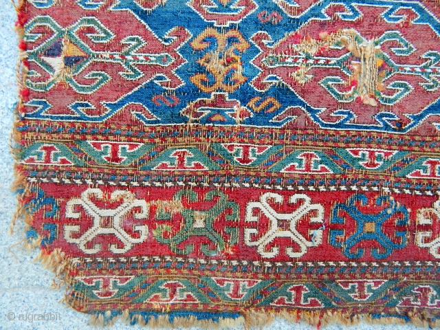 Antique Sumak Mafrash size.50x45cm