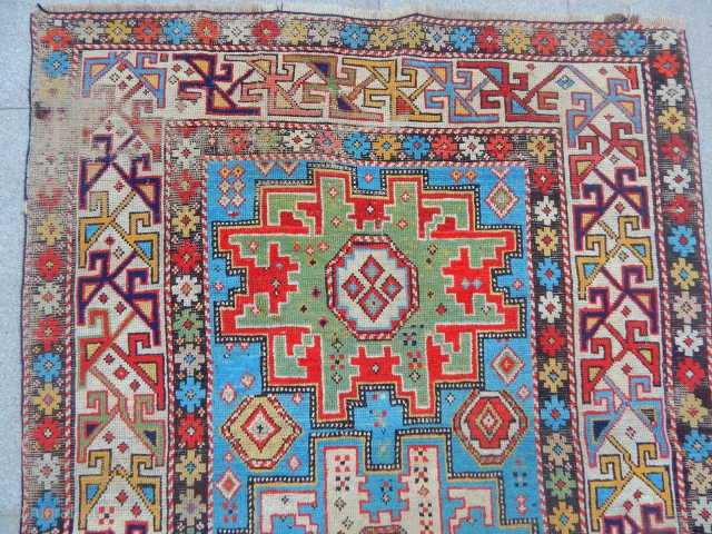 Caucasian Lezgi Sirvan Carpet size.175x100cm
